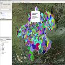 Datensatz Gemeindegrenzen Oberösterreich Vorschau